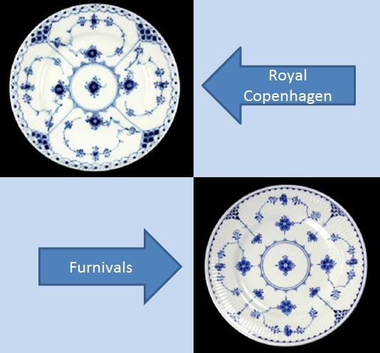 ロイヤル コペンハーゲン ファーニバル比較