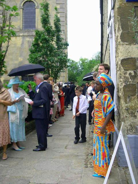 コッツウォルズより愛をこめて-教会での結婚式
