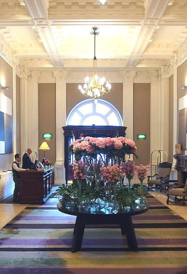 エジンバラ・バルモラルホテルにて