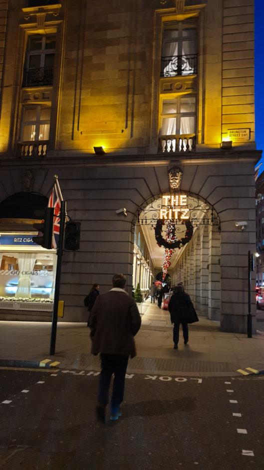 ロンドン ザ・リッツホテル