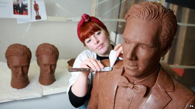 Benedict Cumberbatch chocolate