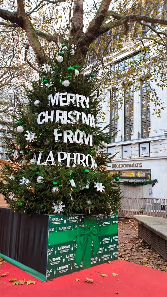ロンドンのクリスマスマーケット