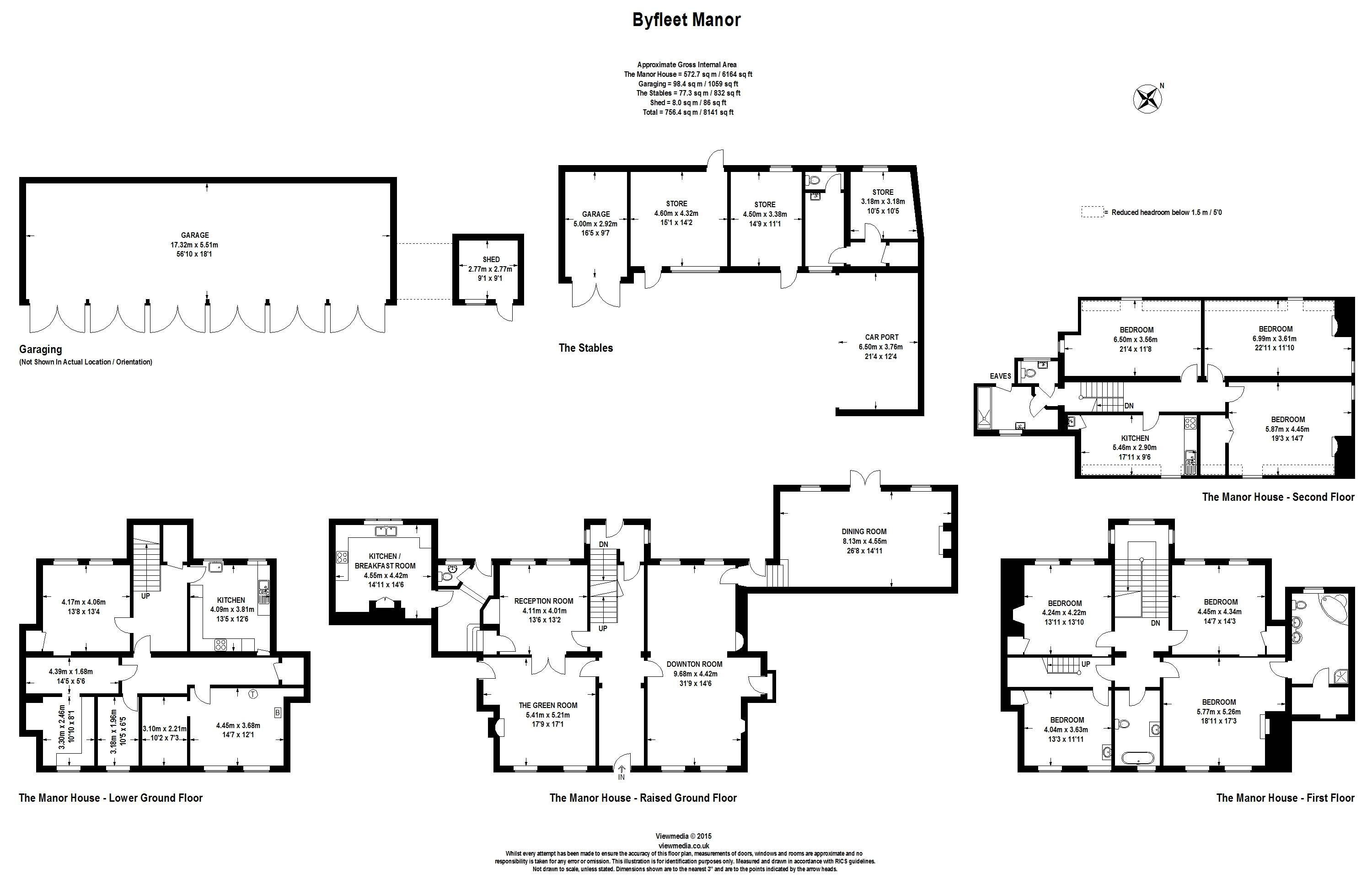 byfleet Manor floor plan