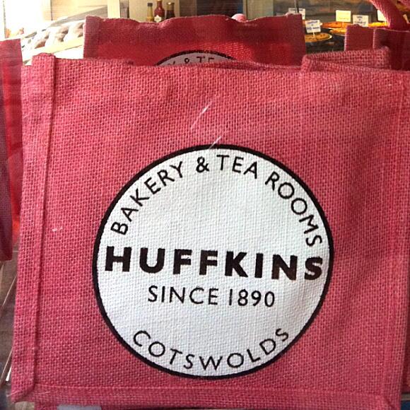 huffkins bag pink