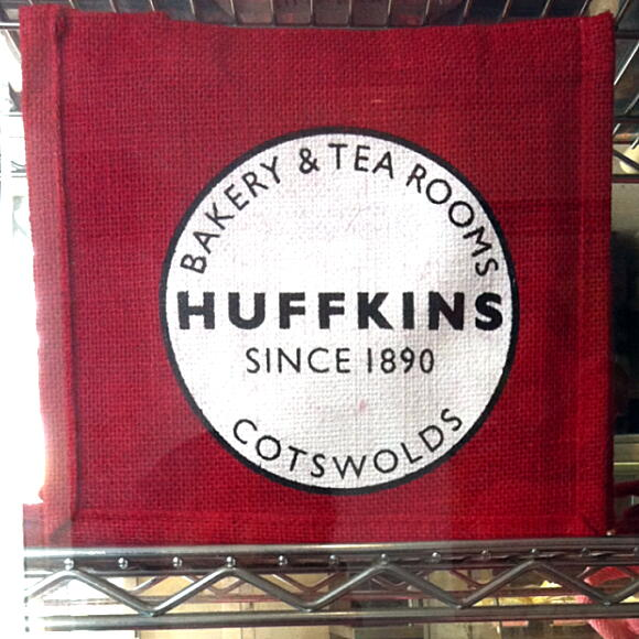huffkins bag red