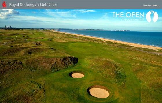 英国アンティークス・オフィシャルブログ-Royal St. George's Golf Club