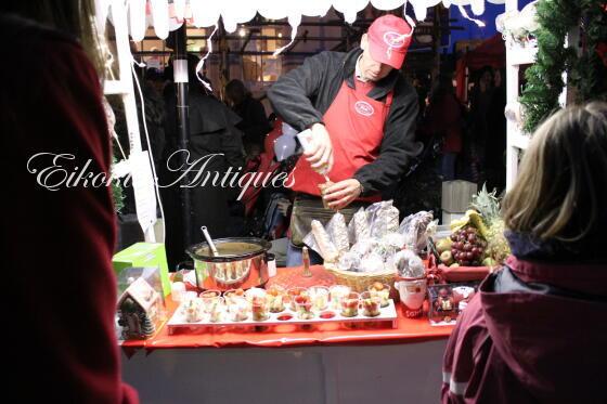 英国アンティークス・オフィシャルブログ-Faringdon Christmas Market