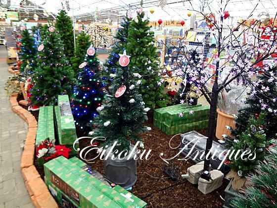 英国アンティークス・オフィシャルブログ-Garden Centre Christmas