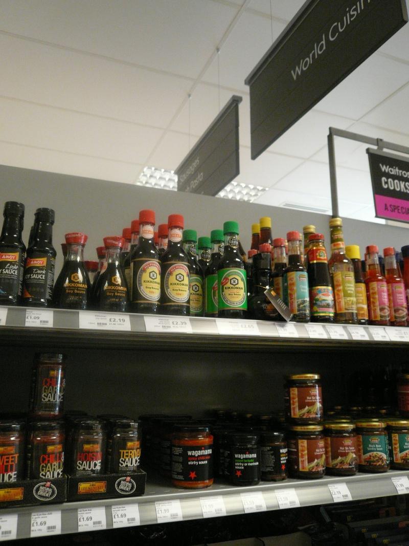 英国・コッツウォルズより愛をこめて-スーパー・マーケット